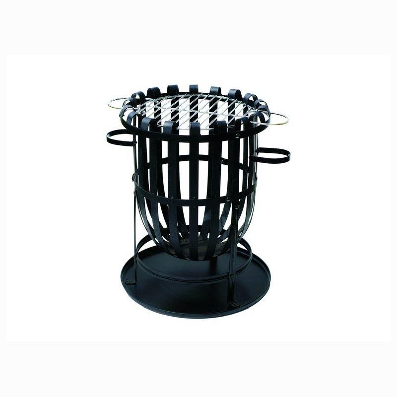 feuerkorb mit grill feuerstelle grill feuerstelle terrasse. Black Bedroom Furniture Sets. Home Design Ideas