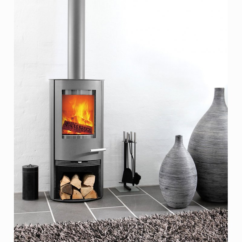 kaminofen termatech tt20 5 kw grau. Black Bedroom Furniture Sets. Home Design Ideas