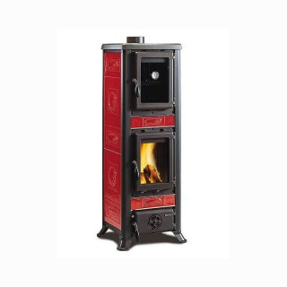 La Nordica Fulvia Forno mit Backfach 6 kW Liberty Bordeaux