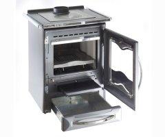 Küchenofen La Nordica Cuccinotta Nero 9,1 kW