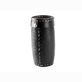 Aufbewahrungsbox für Kamin- Anzünder aus Reifenmaterial inkl. 50 Stück Bio Kaminanzünder Holzwolle