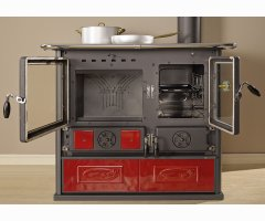 Küchenofen La Nordica Rosa Reverse Liberty Bordeaux 8,1 kW