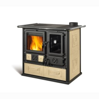 Küchenofen La Nordica Rosa Reverse Liberty Pergamena 8,1 kW