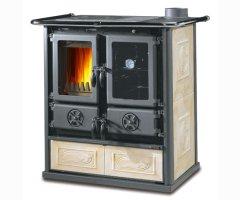 Küchenofen La Nordica Rosetta BII Liberty Pergamena 7,2 kW