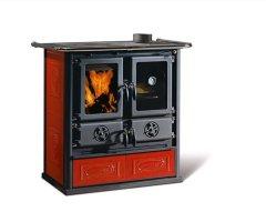 Küchenofen La Nordica Rosetta BII Liberty Bordeaux 7,2 kW